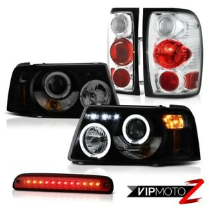 Headlights Halo Led Brake Lamps Tail Lights High Cargo 2001 2011 Ford Ranger Xl