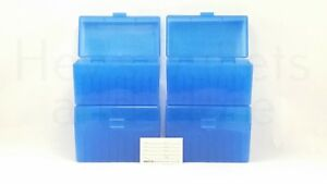 BERRY'S PLASTIC AMMO BOXES (4) BLUE 50 Round 270  30-06  More- FREE SHIPPING