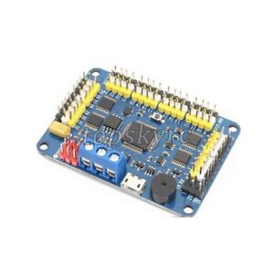 32 Channel Robotic Servo Controller Board Wireless Control For Ps2 Usb uart Top