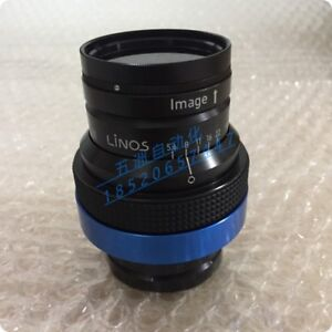 1pc Used Good Linos Inspec x L 5 6 105 Lens ship By Express
