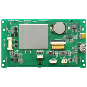 5 inch Serial Screen Lcd Display Touch Screen 800 480 Industrial Screen test Kit