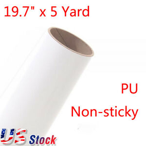 Usa 19 7 X 5 Yard Roll Pu Non sticky Digital Cutting Heat Transfer Vinyl