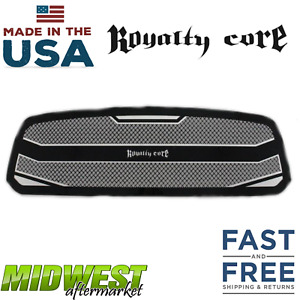 Royalty Core Rc4 Stainless Steel Layered Grille Fits 2013 2018 Dodge Ram 1500