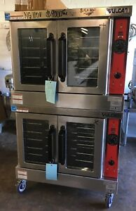 Vulcan Vc6gd Full Size Deep Depth Double Stack Natural Gas Convection Ovens