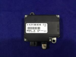 2003 2006 Mercedes W211 E500 E320 Cl500 Battery Stabilization Module 03 04 05 06