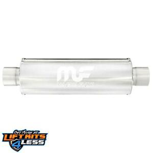 Magnaflow 10425 2 25 Inlet outlet Stainless Steel Muffler For 11 16 Ford Fiesta