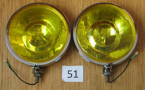 Cibie 45 Iode Yellow Driving Lights Pair