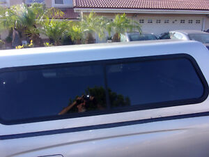 In So Cal Toyota Tacoma 2001 Fast Tops Camper Shell Carpet Slide Windows Silver