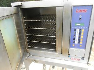 Lang Convection Oven Model Ehs pp purple Plus On Wheels Used And Works