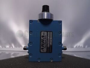 Arra 3844 20r Sma Rf Continuously Variable Attenuator