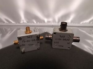 Mcl Mini circuits Zfdc 10 1 Rf Microwave Sma coax Directional Coupler Lot X2