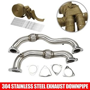 For 6 4l 2008 2010 Ford 6 4 Powerstroke Diesel Heavy Duty Up Pipes No Egr