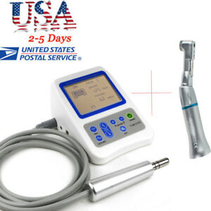 Dental Root Canal Treatment Electric Endo Motor Contra Angle Handpiece Us Ship