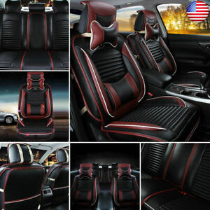 Universal Car Front rear Seat Cover Waterproof Pad Auto Cushion Seats Protector