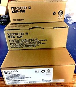 New Kenwood Nx 5700 Nx 5800 Nx 5900 Remote Head Kit Nx5700 nx5800 nx5900