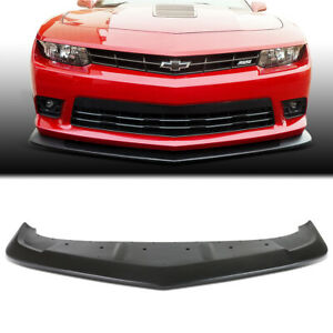 Fit 2014 2015 Chevy Camaro A Style Abs Front Bumper Lip Spoiler Wing Body Kit