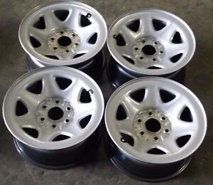 Chevy Silverado 1500 Factory Oem Steel Wheels Rims 2014 2016 17x8