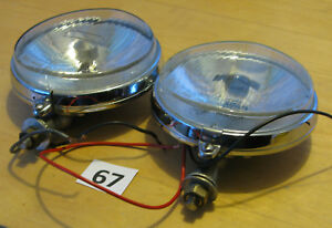 Carello 130mm Fog Driving Lights Pair Marchal Cibie Hella
