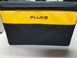 Fluke Large Soft Case For Digitial Multimeters 12 6 5 7 Free Test Leads