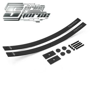 2 Rear Leveling Lift Kit Add a leaf Shims For 2004 2019 Nissan Titan 2wd 4wd
