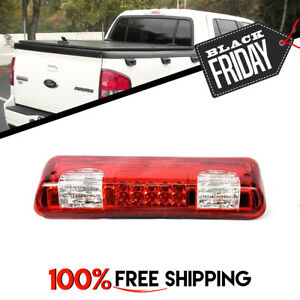3rd Stop Light Cargo Lamp Led Red Clear For Ford Sport Trac Fit 2007 To 2010
