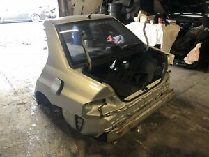 2003 2006 Mitsubishi Lancer Evolution Rear End Both Quarter Panels Left Right
