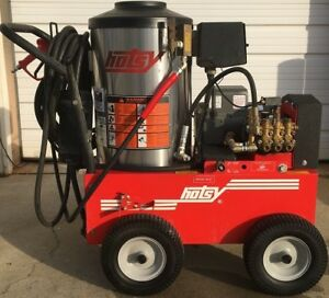 Used Hotsy 895ss Hot Water Electric Diesel 3 5gpm 3000psi Pressure Washer