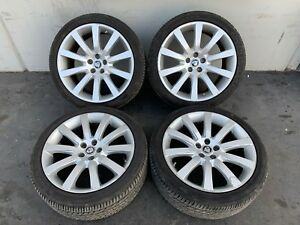 Jaguar Xk Xkr 07 10 19 Inch Rim Rims Wheels Wheel Oem Set With Tires