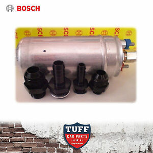 Genuine Bosch 044 700hp Fuel Pump With Proflow Fittings Choice Of An Or Barb