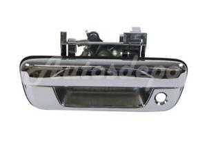 Tailgate Handle Chrome With Lock Hole For Chevy Colorado Gmc Canyon 2004 2012