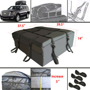 Waterproof With Protective Universal Cargo Roof Top Carrier Bag Car Van Suv