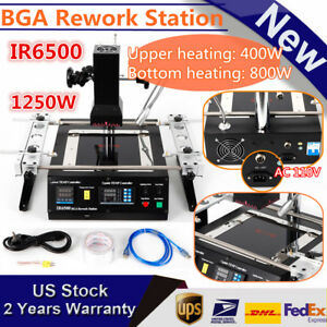 Ir6500 Infrared Bga Soldering Rework Station Machine For Xbox 360 Ps3 1250w