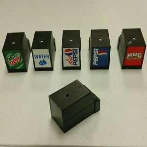 Countertop Cornelius 6 Head Soda Pop Dispenser Plastic Head Valve solenoid Cover