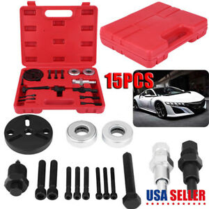 A C Compressor Clutch Remover Kit Installer Puller Auto Air Conditioner Tool
