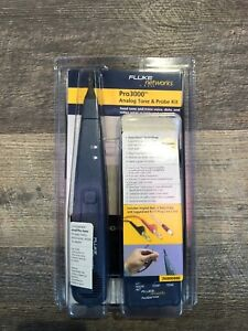 Genuine Fluke Networks Pro 3000 Analog Tone Probe Kit