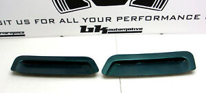 93 97 Camaro Factory Hood Louvers Vents Inserts Lh Rh Oem Stock Gm Scoops