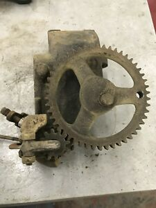 Fairbanks Morse 11 2 Hp Timing Gear Governor Hit And Miss Gas Engine Cast Iron
