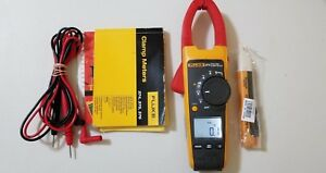 Used Fluke 374 True Rms Ac dc Clamp Meter With Manual Tp 256472