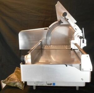 Bizerba Commercial Meat Slicer W 13 Blade Extras