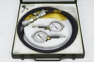 Marsh Compression Pressure Gauge Test Kit military Issue