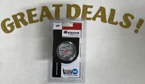 2 Inch White Water Temp Gauge 130 280 Degrees Equus 5242
