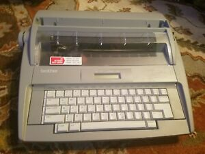 Brother Sx 4000 Electronic Typewriter No Cover Works Great