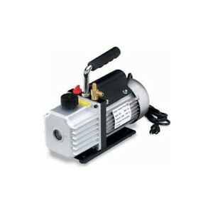 Air Conditioning Vacuum Pump 5 Cfm 1 3 Hp Motor Two Stage A c Tools