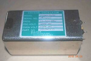 Hp 10 Mhz Tcxo Reference Crystal Oscillator Pc0x0 hp02