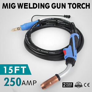 15 Ft M25 169598 250 Amp Mig Gun Welding Torch Stinger Welder Parts Millermatic