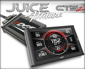 Edge Juice With Attitude Cts2 Monitor For 2001 2004 Gm 6 6l Lb7 Duramax Diesel