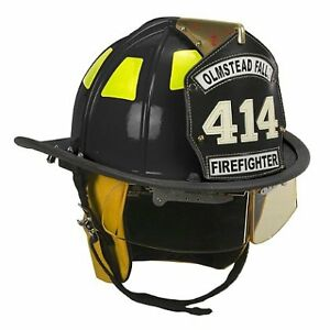 Cairns 1010 Black Traditional Fiberglass Helmet Nfpa Osha Nfpa Bourkes And