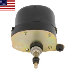 Universal Black Windshield Wiper 12v Motor For Chevy Ford Mopar Jeep 0390506510