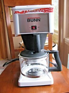 Bunn Bx b 10w Bunn o matic White Coffee Brewer Maker Nothing Beats A Bunn
