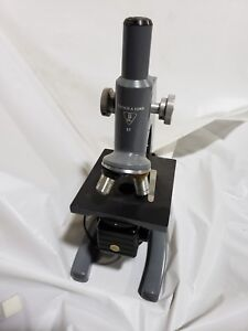 Vintage Bausch Lomb St Student Microscope 10x 43x